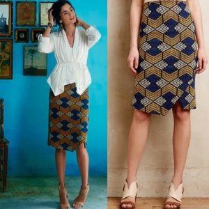 Anthropologie Maeve Kanara Skirt